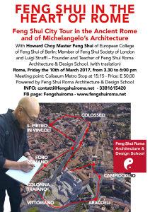 Feng Shui Study Tour of Michelangelo's Rome