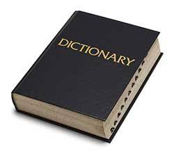 BaZi 10-on-10 : DR/DR, Dictionary
